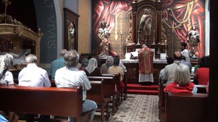 Missa em Escazú (a portas fechadas, secreta)