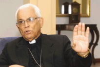 Bispo emérito Hugo Barrantes.