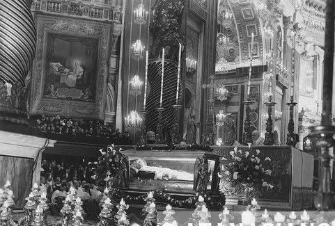 Missa de canonização de São Pio X.