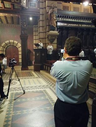 Sermão do diácono Pedro Gubitoso, registrado pelos membros da Associação Cultural Montfort (Mosteiro de São Bento, SP, 19 de julho de 2015)