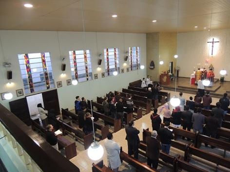 Missa durante o Congresso