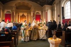 Incêndio atingiu santuário Cristo Rei, em Chicago, em 7 de outubro de 2015.