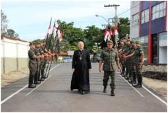 Dom Fernando Guimarães, arcebispo do Ordinariato Militar do Brasil.