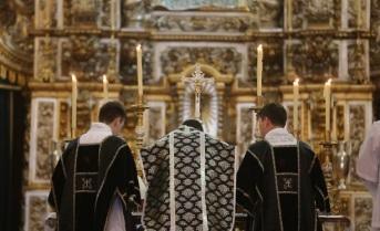 São Paulo, 8 de abril de 2016 - Missa pelos 200 anos de morte de D. Maria 1ª.