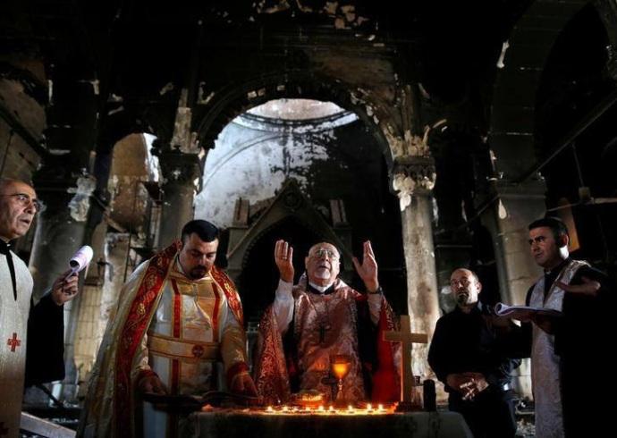 Missa em Qaraqosh