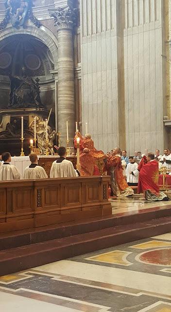 Missa Pontifical de Dom Guido Pozzo - Basílica de São Pedro, 16 de setembro de 2017