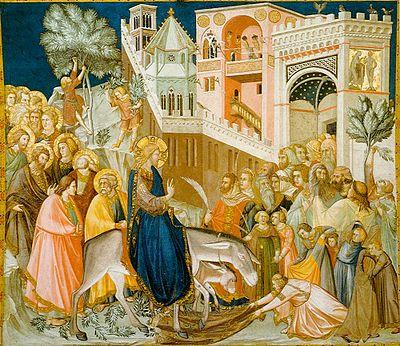 Assisi-frescoes-entry-into-jerusalem-pietro_lorenzetti