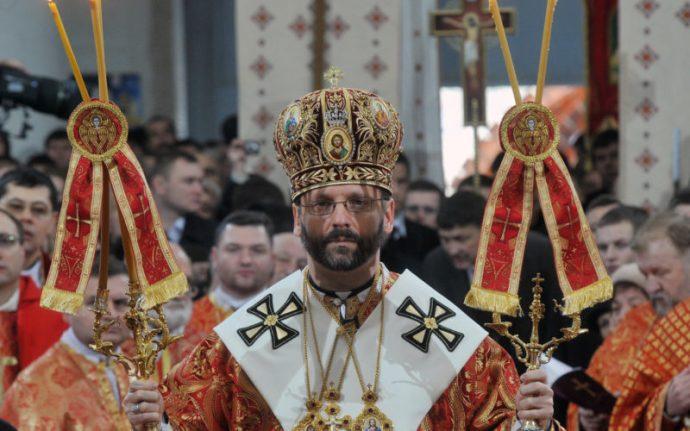 Newly elected Major Archbishop Sviatosla