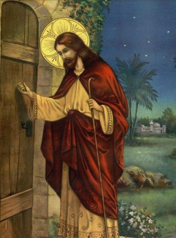 Jesus bate a porta
