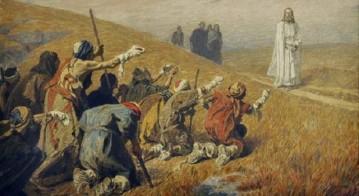 jesus e os dez leprosos